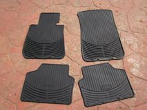2008 BMW Xi Heavy Rubber Floor Mat Set of Four in Palatine, Illinois