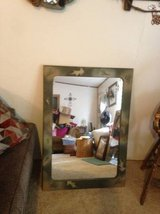 Large wood Frame Hanging Mirror in Fort Campbell, Kentucky