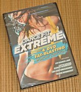 NEW Dance Fit Extreme 4 Disc Set DVD Workout Fat Blasting Exercise Fitness Video in Oswego, Illinois
