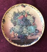 """Abundant Delights"" Collector Porcelain Plate by Glynda Turley Nature's Elegance in Bolingbrook, Illinois"