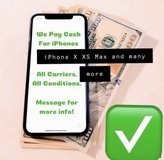 Buying Any Condition iPhones, Smartphones, iPads, (CASH SAME DAY) in Oswego, Illinois