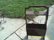 REDUCED.....1930S-40S MAGAZINE RACK CANE HOLDER in Westmont, Illinois
