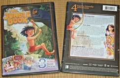 NEW Jungle Book DVD + 3 Bonus Fairy Tales Snow White Alice In Wonderland Beauty Beast in Morris, Illinois