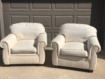 Set of fabric chairs good condition in Bolingbrook, Illinois