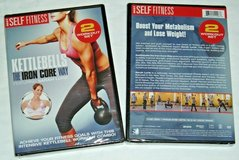 NEW Kettlebells The Iron Core Way DVD Workout Combo with Sarah Lurie in Yorkville, Illinois