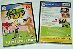 NEW Johnny Test Super Smarty Pants DVD 10 Episodes Cartoon Network in Morris, Illinois