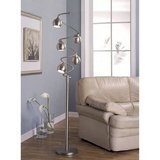 Floor Lamp 65 Inches Sanded Chrome - New! in Naperville, Illinois