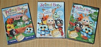 NEW Wild Animal Baby Explorers DVD Lot 25 Episodes Learn See Playtime Pals in Chicago, Illinois