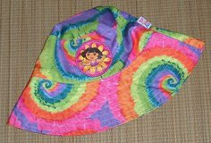 Nickelodeon Dora the Explorer Tie Dye Bucket Sun Beach Pool Hat One Size Girls in Joliet, Illinois