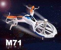 New! Lightning Fast Mini RC Quadcopter M71 Remote Control Spacecraft in Orland Park, Illinois