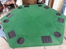 Poker Table Top & Chip Set in Cleveland, Texas