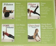 NEW 4-Disc Set NIP Beach Pilates DVD Workout Abs Buns Thigh Exercise Fitness Body Sculpt in Morris, Illinois