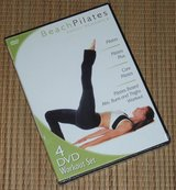 NEW 4-Disc Set NIP Beach Pilates DVD Workout Abs Buns Thigh Exercise Fitness Body Sculpt in Chicago, Illinois