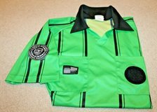 Official Sports International Soccer Referee Green/Black Short Sleeve Jersey, Large in Oswego, Illinois
