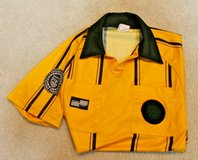 Official Sports International Soccer Referee SS Jersey, Yellow/Black, Small in Oswego, Illinois