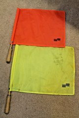 Official Sports International Soccer Referee Linesman Flags -Orange & Yellow in Westmont, Illinois
