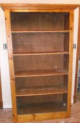 OFFERS?  Solid Wood Shelf Unit. in Conroe, Texas