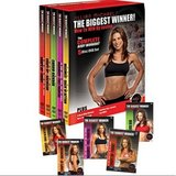 NEW Jillian Michaels Complete Body Workout DVD 5 Disc Box Set Biggest Winner in Morris, Illinois