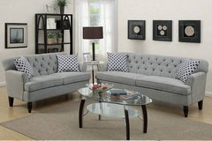 New! Velveteen Sofa and Loveseat Set FREE DELIVERY in Camp Pendleton, California