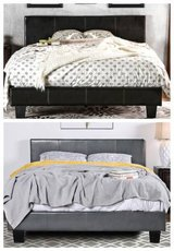 New! Gray or Espresso QUEEN or CALI KING Bed Frame FREE DELIVERY start in Camp Pendleton, California