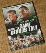 NEW When the Game Stands Tall DVD Inspired True Story Football Bob Ladouceur in Plainfield, Illinois