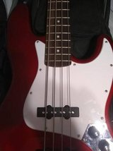 Squier Jazz Electric Bass Indonesia in Aurora, Illinois