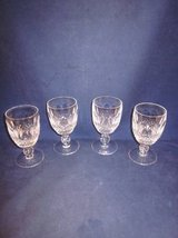 WATERFORD CRYSTAL Colleen Claret Wine Glass GOTHIC MARK ~ EXC in Naperville, Illinois