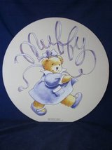 """Muffy Vanderbear Wall Hanging Picture 1995 LARGE 18"""" dia ~ VINTAGE NEW in Naperville, Illinois"""