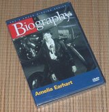 NEW Biography Amelia Earhart DVD A&E Award Winning Series Vintage 2005 OOP RARE in Chicago, Illinois