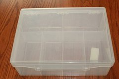 Plastic Case with Six Trays for Parts in Kingwood, Texas