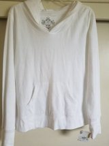 New white hoodie for Juniors size XL with tags attached in Camp Pendleton, California