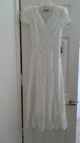 NWT White Lace Dress (small) in Camp Pendleton, California