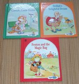 Vintage 1990 Lot of 3 Alpha Pets Illustrated Hard Cover Series Books Ruth Perle C D F in Oswego, Illinois