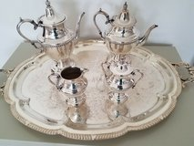 Academy Silver on Copper Tea Service... antique very rare in Fort Belvoir, Virginia