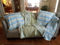 6 piece comforter set king reversible- Martha Stewart collection from Macy's in Fort Belvoir, Virginia