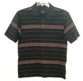 Nike Fit Dry Tiger Woods Collection Striped Golf Polo Shirt Mens Small in Yorkville, Illinois
