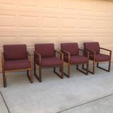 Office Chairs, Set of 4 in Fairfield, California