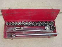 "Wright 3/4"" Drive 18 Piece SAE Socket Set 7/8""; To 2"" With Box in Tinley Park, Illinois"