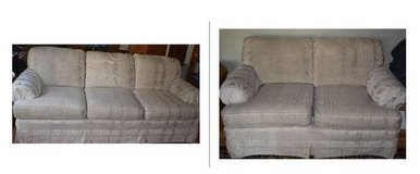 Couch and Love Seat Sofa Set in Glendale Heights, Illinois