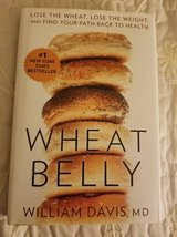 Wheat Belly book hardcover with dust jacket in Oceanside, California