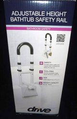 New! Adj Height Bathtub Grab Bar - Safety Rail ~ Drive Medical in Orland Park, Illinois