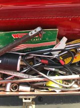Vintage Craftsman Toolbox with Misc Tools in Travis AFB, California