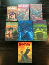 j. k. rowling harry potter book set 1-7 hardcover & paperback mixed lot in Orland Park, Illinois