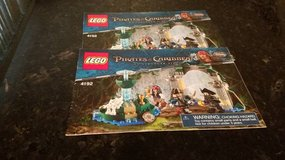 Lego Pirates of the Caribbean Instruction Book in Chicago, Illinois
