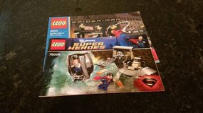 2 Lego Super Heroes Instruction Books in Chicago, Illinois