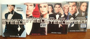 NEW Remington Steele Complete TV Series Seasons 1-5 Box Sets 17 Disc 1 2 3 4 5 in Morris, Illinois