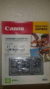 Canon 1 CL-41 and 2 PG-40 Ink Cartridges Value Set in Fort Campbell, Kentucky