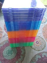 50 Slim CD cases in Elgin, Illinois