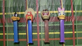 Pez Dispensers in Elgin, Illinois