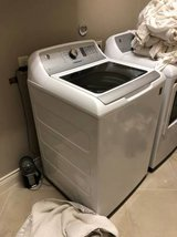 GE® 4.9 Cu. Ft. Capacity Washer With Stainless Steel Basket in The Woodlands, Texas